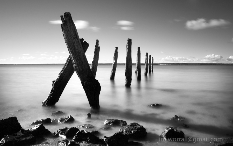 Tenby Point - West Jetty - Jim Worrall - Western Port Bay - Australia - ND400