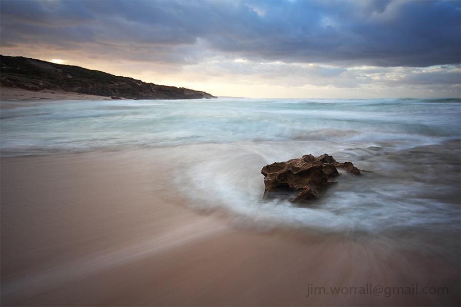 Montforts beach Blairgowrie Jim Worrall Australia