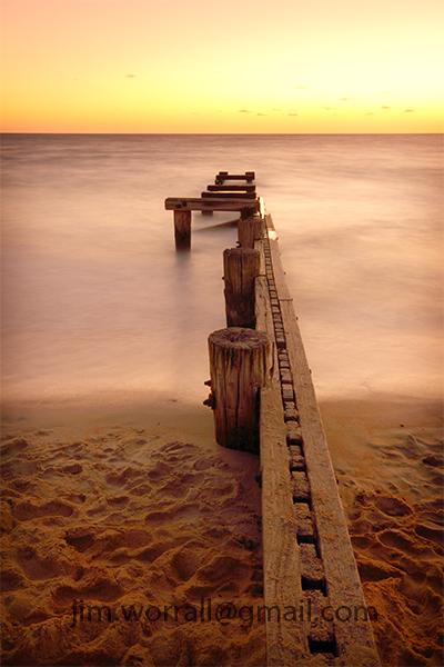 Mentone- Port Phillip Bay - sunset - Jim Worrall