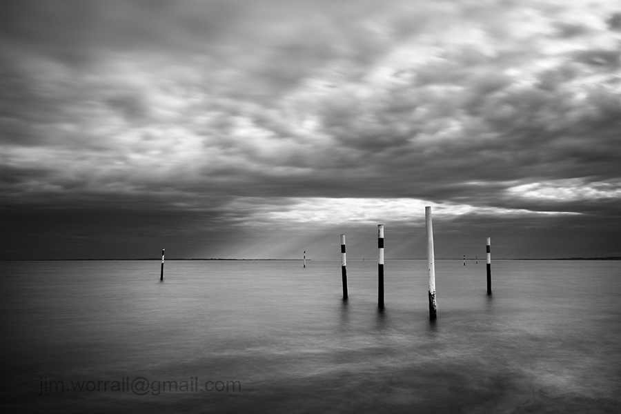 the gateway coronet bay jim worrall seascape black and white