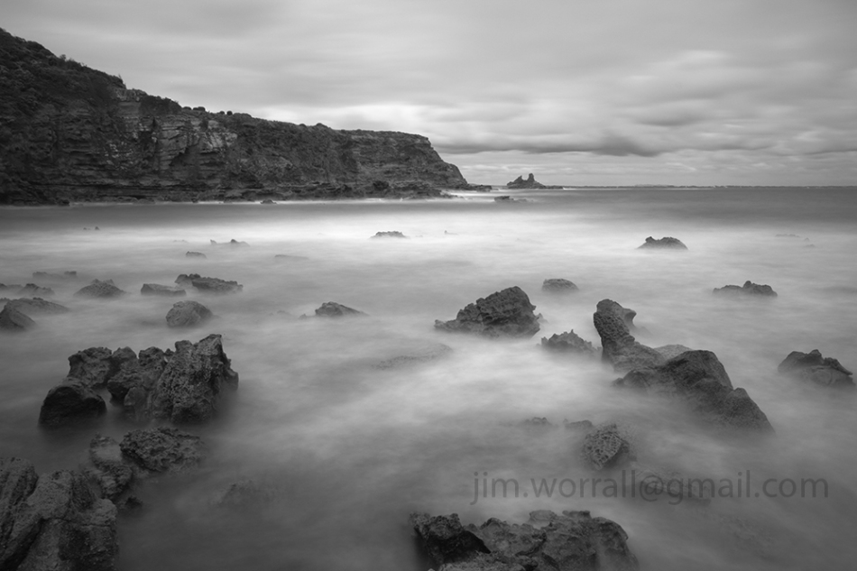 Shack Bay Jim Worrall long exposure