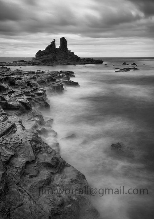 Eagles Nest Jim Worrall beach seascape