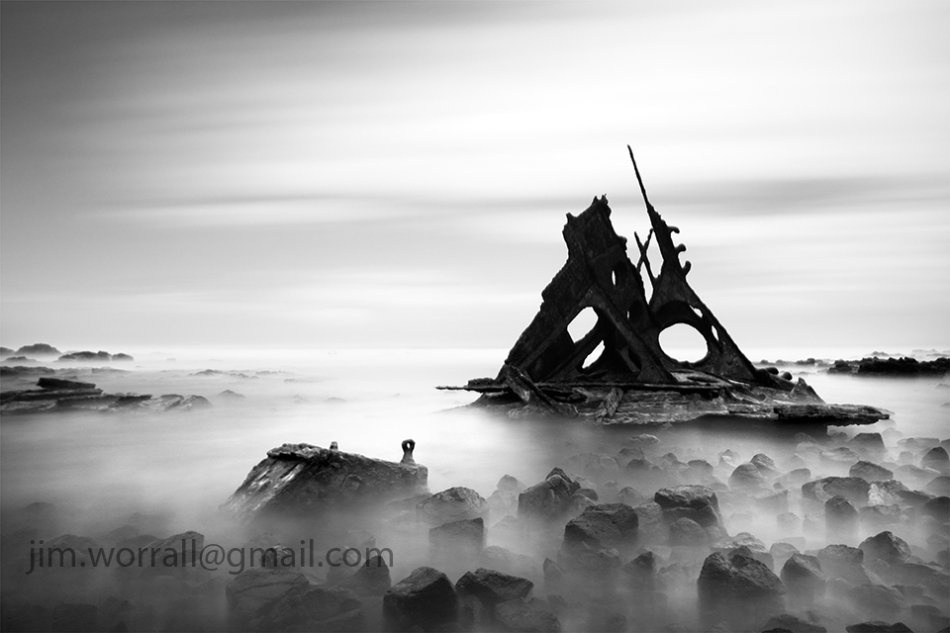 SS Speke shipwreck, Jim Worrall, Kitty Miller Bay, Phillip Island