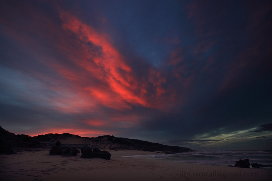 sunrise at Montforts beach - Jim Worrall - Blairgowrie - Mornington Peninsula