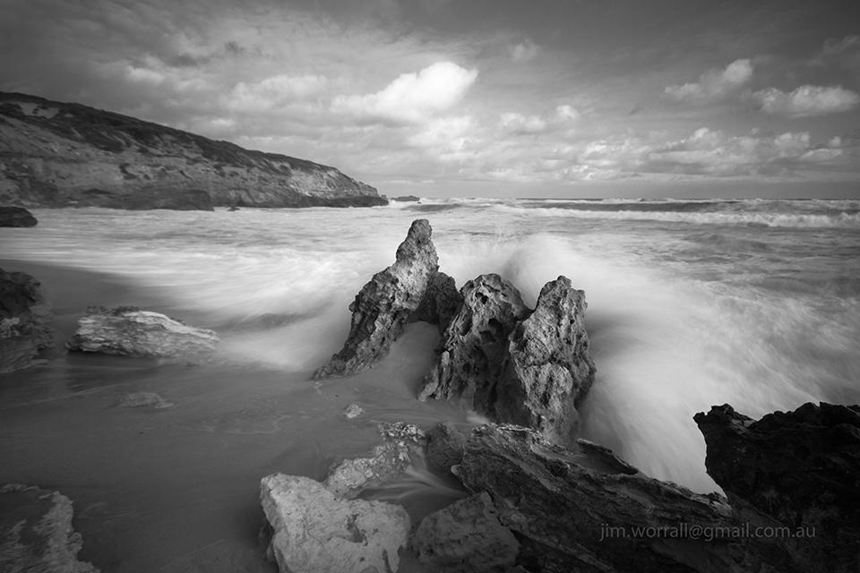 Sorrento - Jim Worrall - Mornington Peninsula - beach seascape