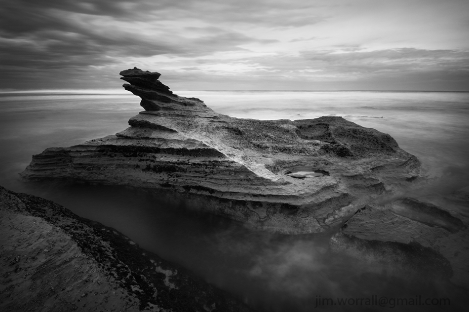 Jim Worrall - ND400 - long exposure - St Andrews Beach - Mornington Peninsula
