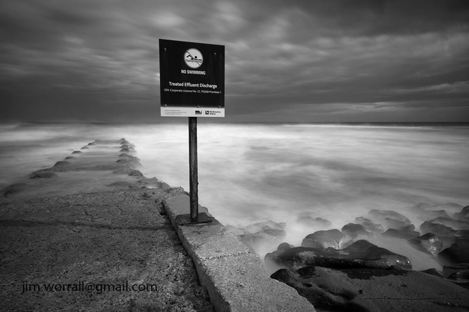 Jim Worrall - long exposure - ND400 - Mornington Peninsula