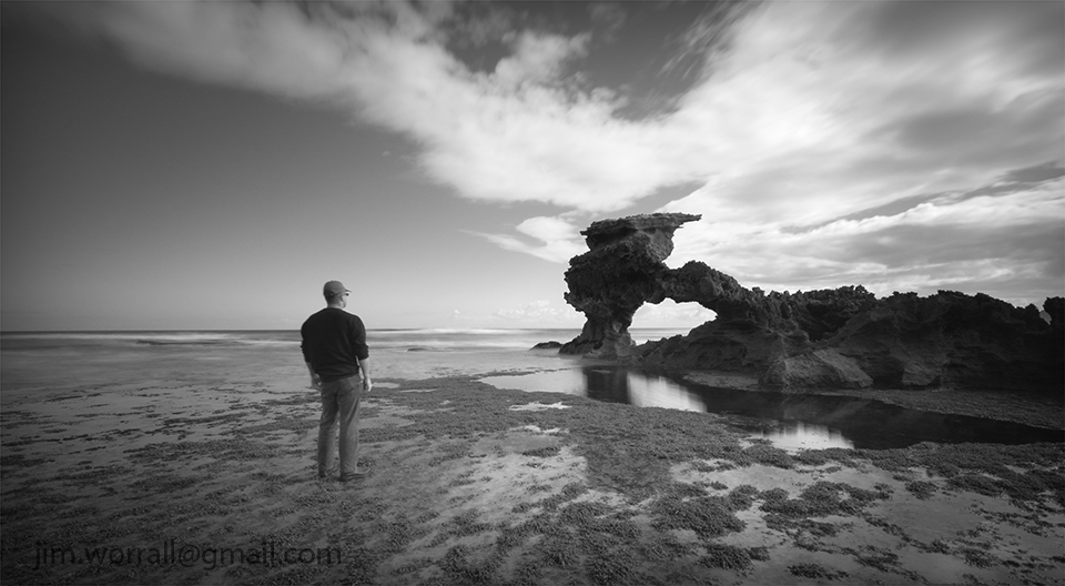 Jim Worrall, Portsea, Point Nepean, Mornington Peninsula