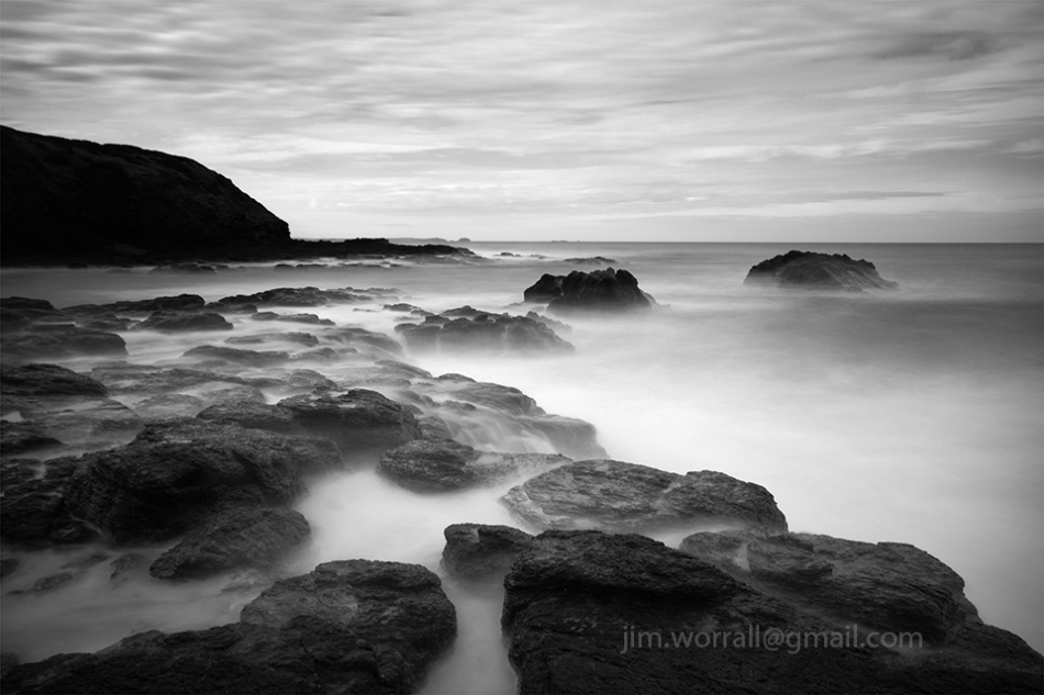 Jim Worrall, Blowhole Track, Mornington Peninsula