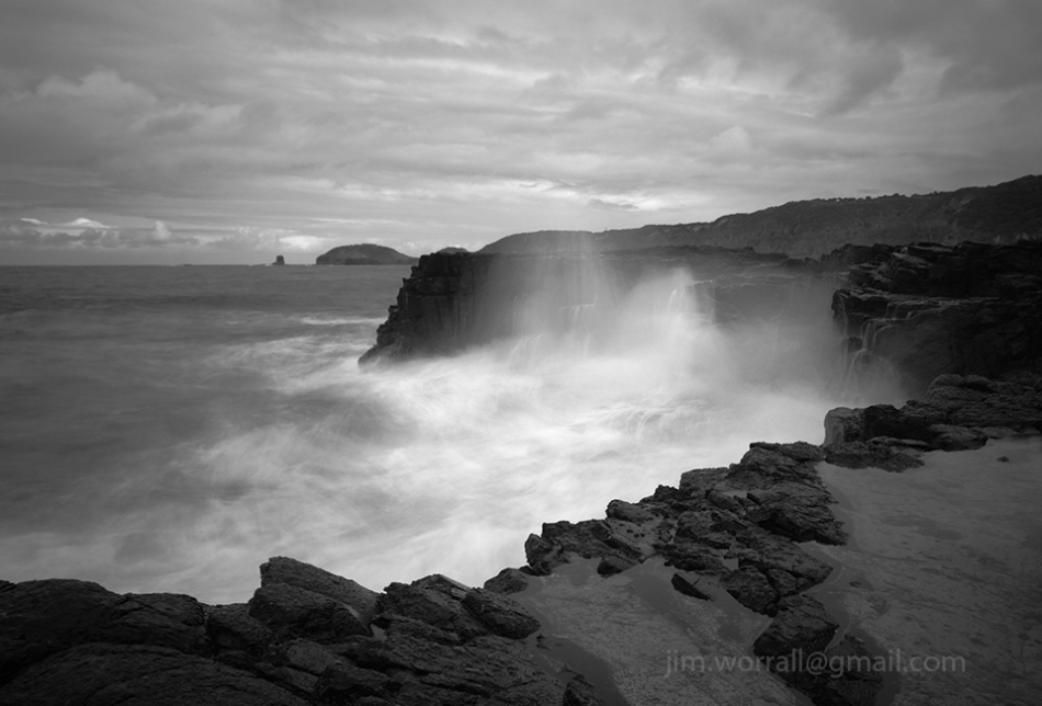 Bushrangers Bay, Mornington Peninsula, Jim Worrall, seascape, long exposure