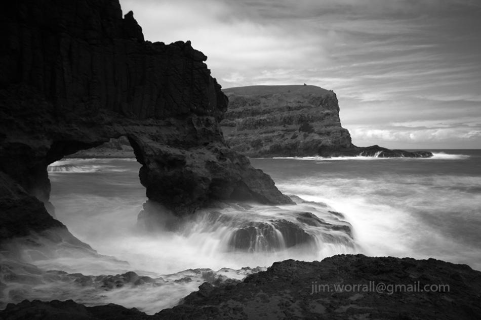 Arch, Bushrangers Bay, Mornington Peninsula, Jim Worrall, long exposure, seascape, ND400