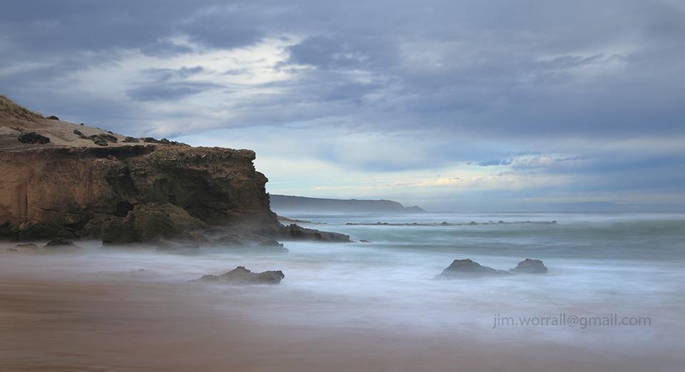 Jim Worrall, Mornington Peninsula, long exposure, ND400, seascape