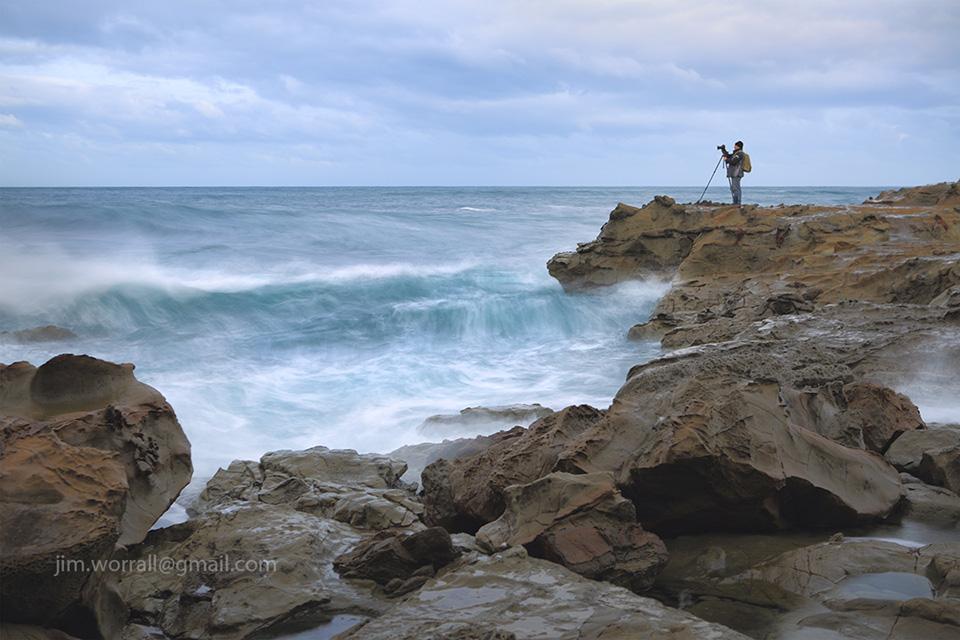 Jason Cincotta, Jim Worrall, Kilcunda, George Bass Coastal Walk, ND400, long exposure