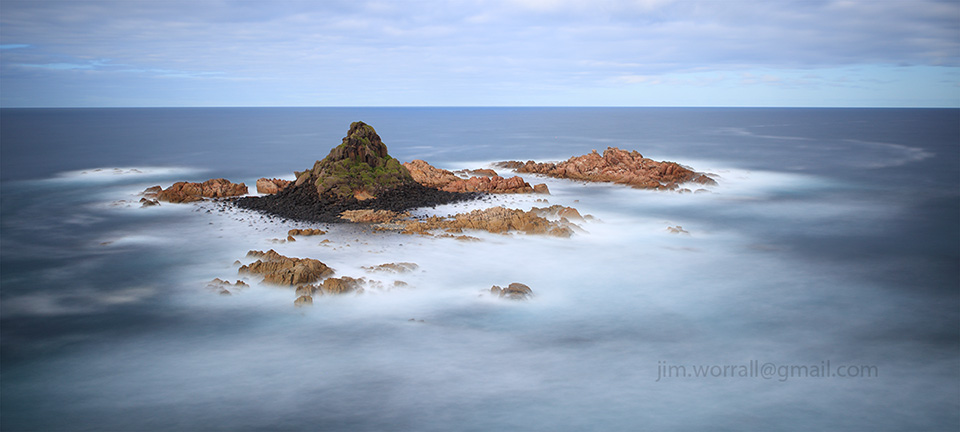Jim Worrall, long exposure, seascape,, ND400