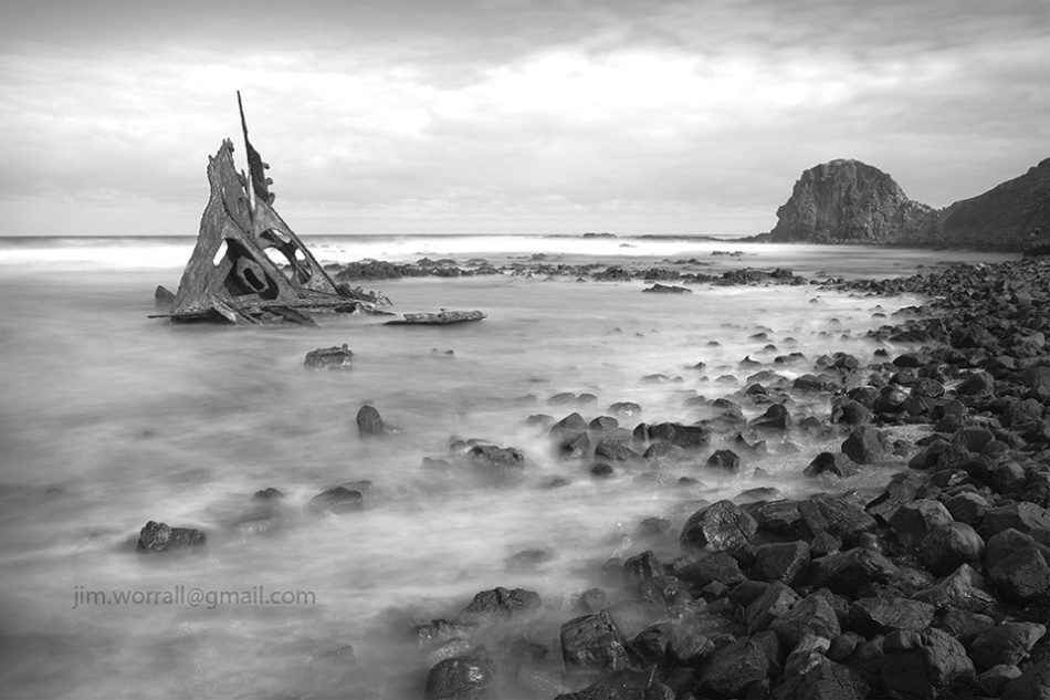 Jim Worrall, Kitty Miller Bay, Phillip Island, seascape, long exposure, ND400