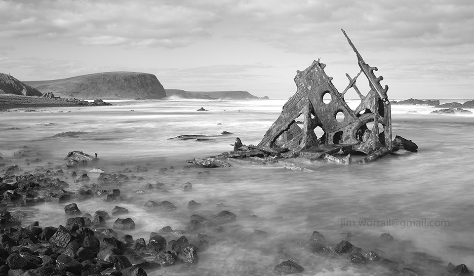 Jim Worrall, Phillip Island, seascape, long exposure, ND400