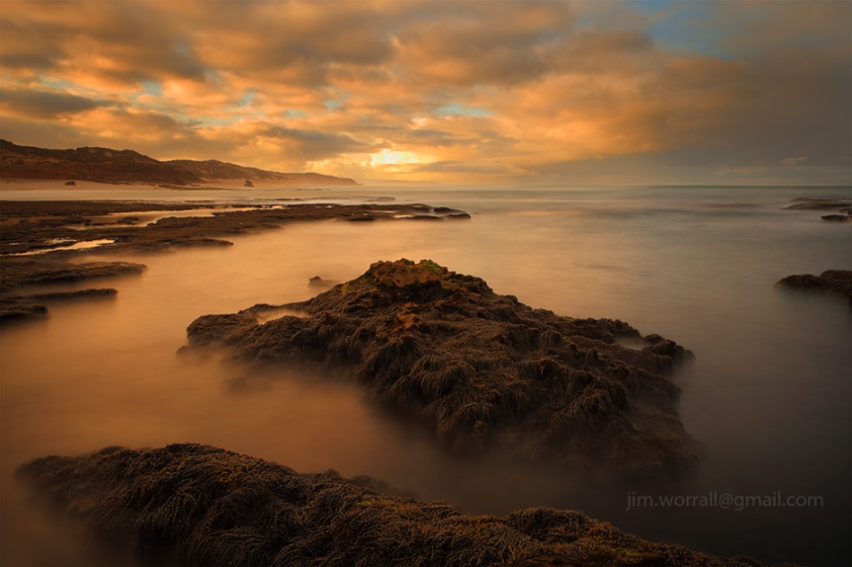 number sixteen, long exposure, seascape, Rye, Mornington Peninsula