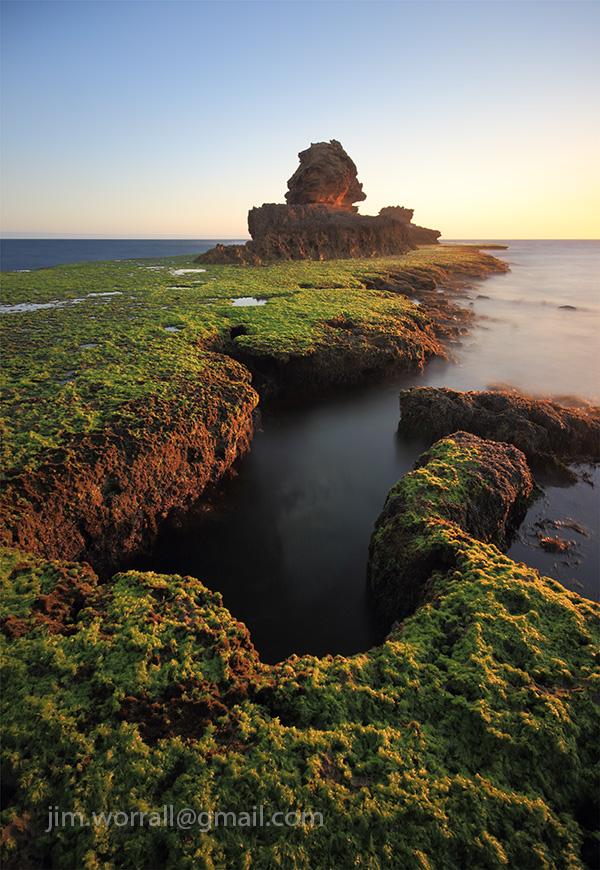 Jim Worrall, Mornington Peninsula, Sorrento, back beach, seascape, long exposure