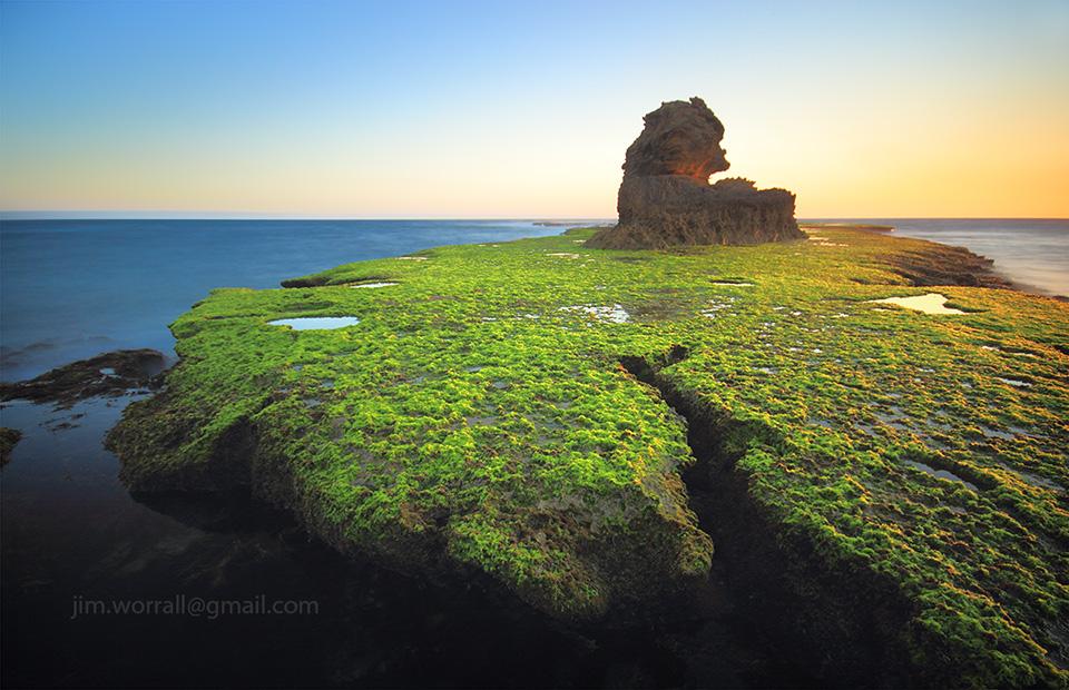 Jim Worrall, Mornington Peninsula, back beach, seascape, long exposure