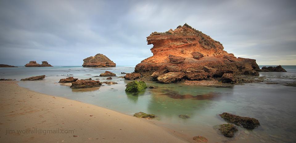 Jim Worrall, Mornington Peninsula, seascape, long exposure