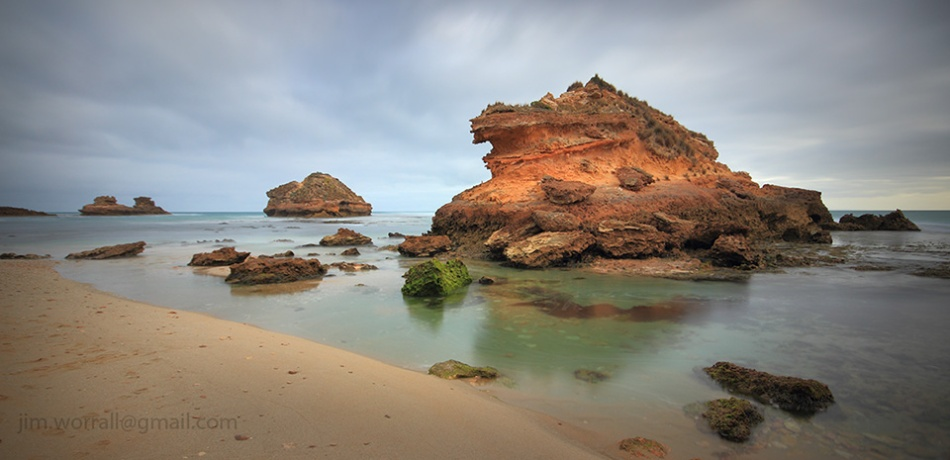 Jim Worrall, Mornington Peninsula, seascape, long exposure