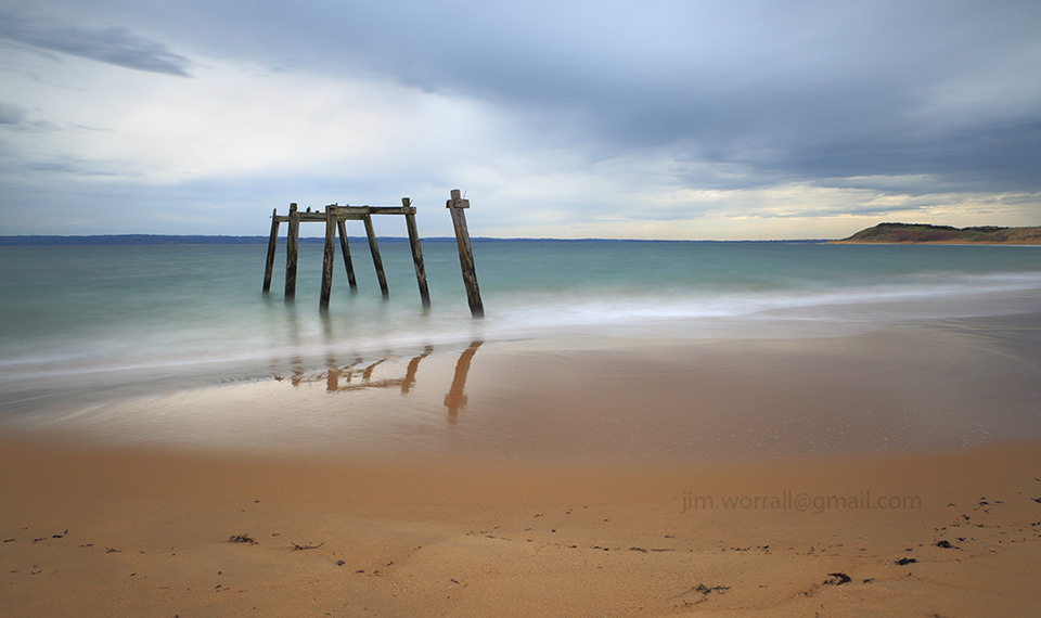 jim worrall, phillip island, long exposure, seascape, australia