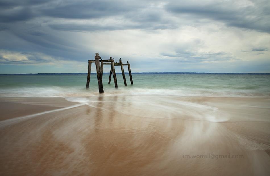 jim worrall, phillip island, seascape, long exposure