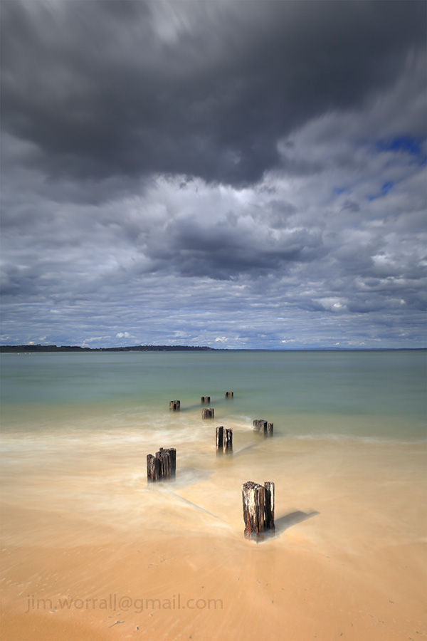 Jim Worrall, Mornington Peninsula, long exposure, seascape, ND filter, NiSi