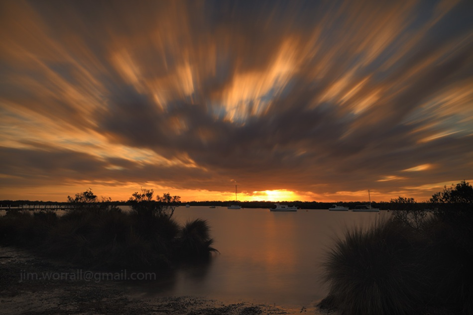 Jim Worrall, western port bay, sunset, long exposure, ND filters