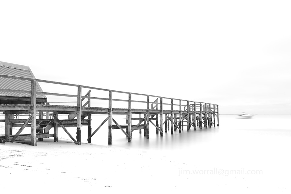 Point King, jetty, Jim Worrall, Mornington Peninsula, Sorrento, long exposure