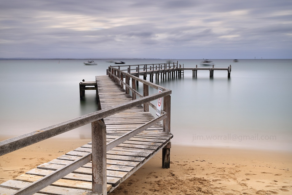 shelley beach, shelly beach, portsea, jim worrall, mornington peninsula, seascape, long exposure