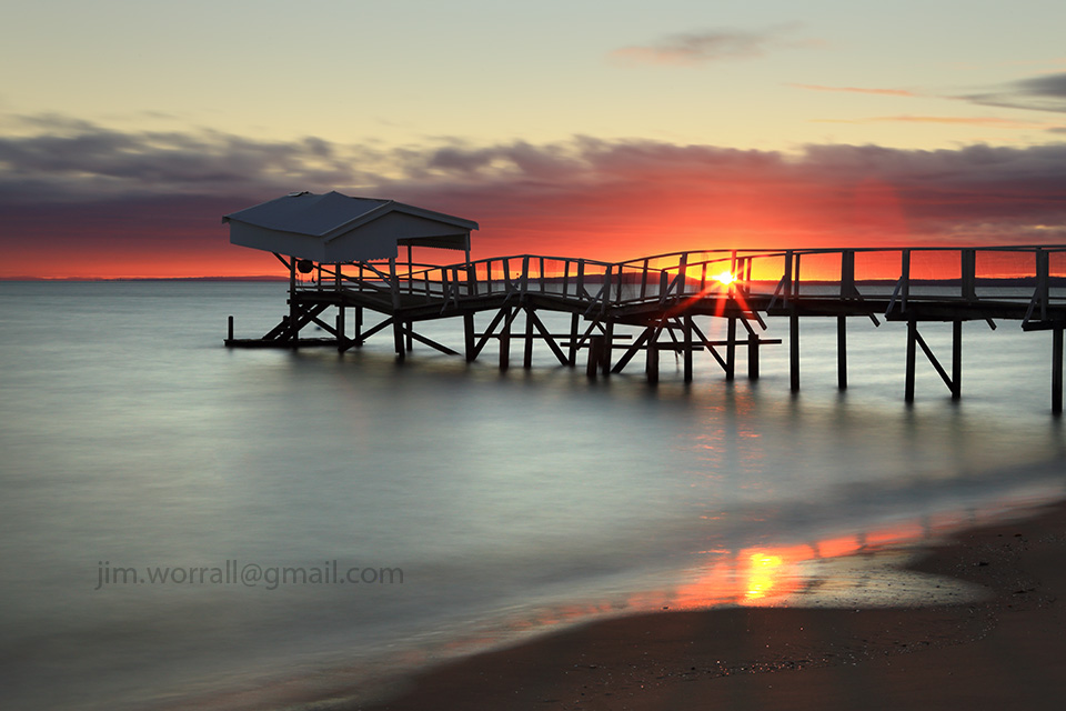 sullivan bay, sorrento, mornington peninsula, sunrise, long exposure, nd filters, nd400