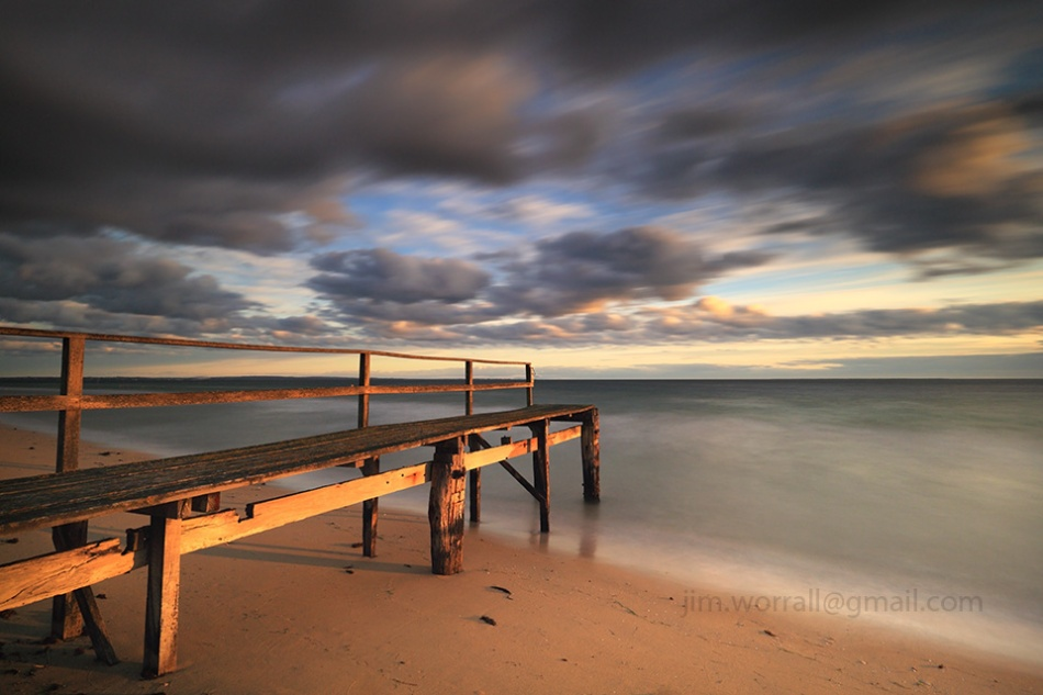 Jim Worrall, Point King, beach, Mornington Peninsula, long exposure, ND400, sunrise