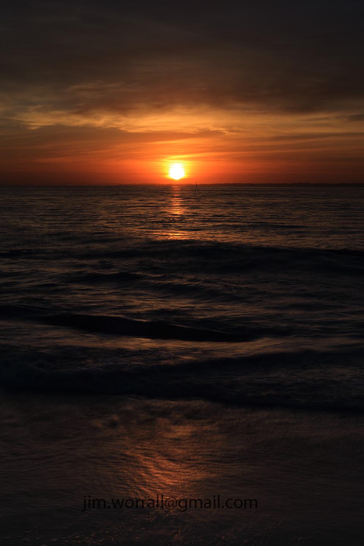 Balnarring Beach, Jim Worrall, sunrise, Western Port Bay, Mornington Peninsula