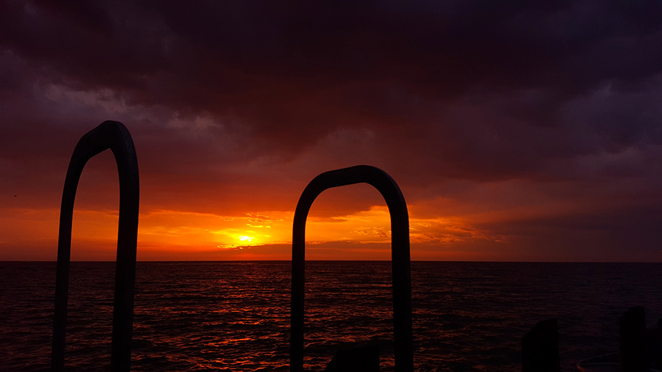 Olivers Hill Jetty, sunset, JIm Worrall, Frankston