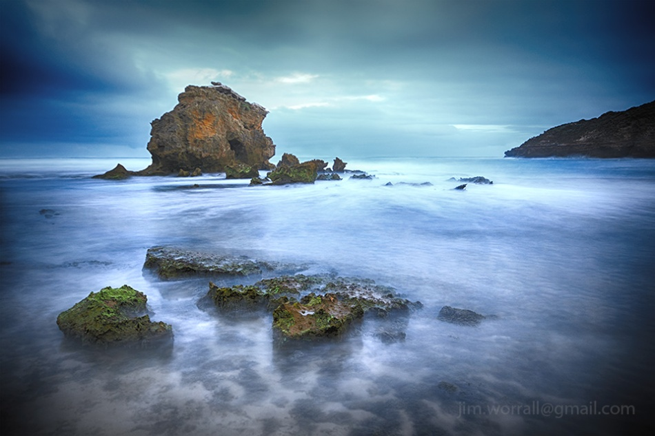 Jim Worrall, Blairgowrie, Mornington Peninsula, beach, long exposure