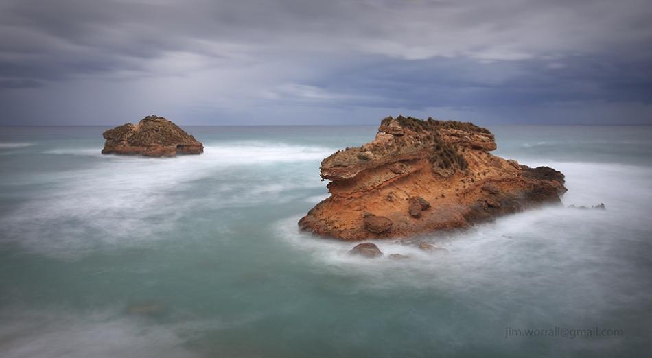 Jim Worrall, Sorrento, long exposure, ND filter, seascape, beach, Mornington Peninsula