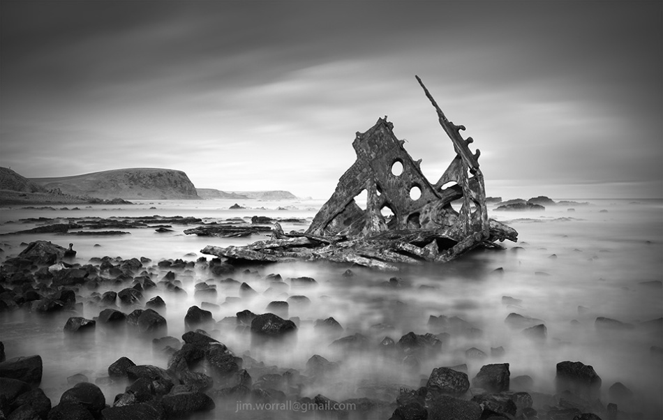 Jim Worrall, shipwreck, Phillip Island, long exposure, ND filters