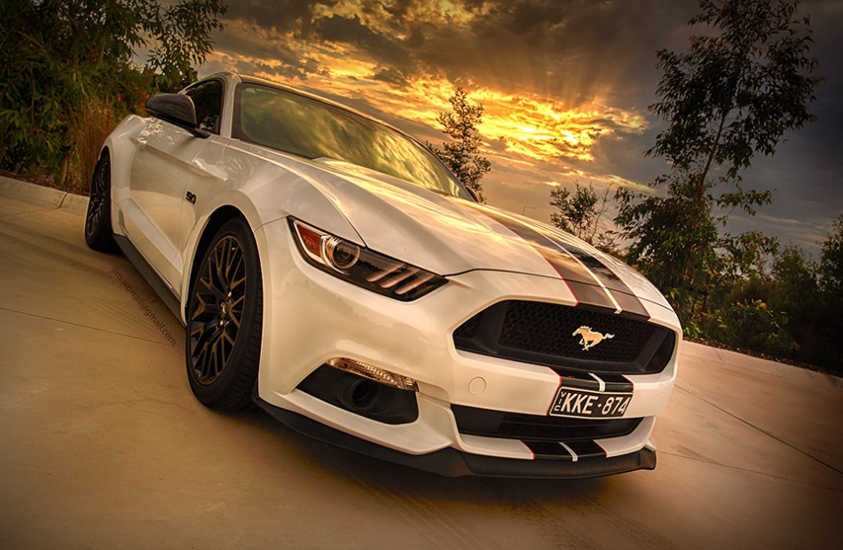 jim worrall, mustang, ford, sunset, car, stang
