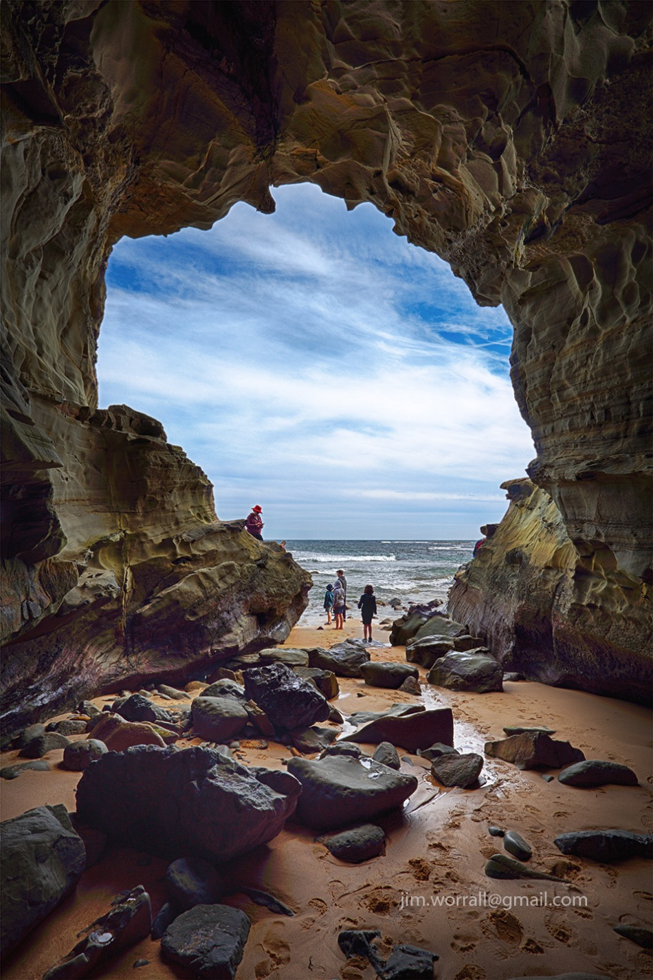 Inverloch, Bass Coast, Victoria, Jim Worrall, The Caves