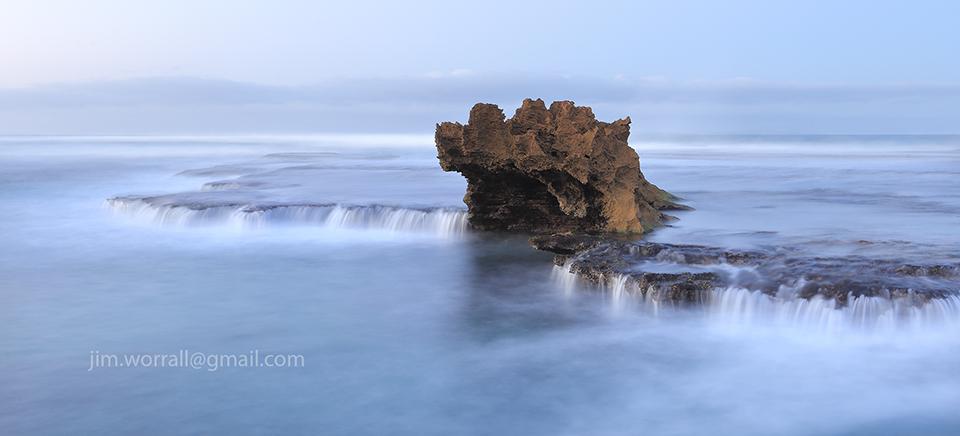 jim worrall, rye, mornington peninsula, back beach, long exposure