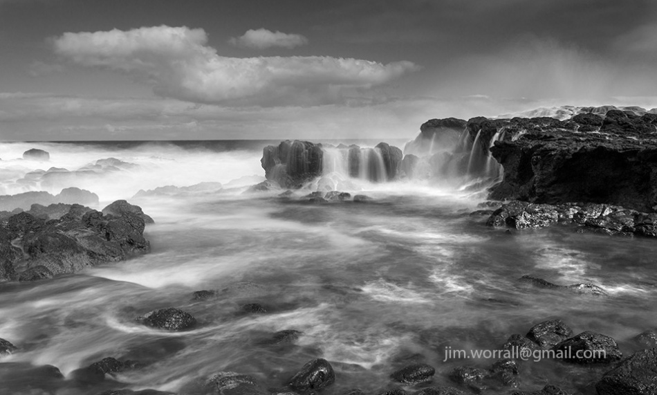 Jim Worrall, Tea Tree Creek, Mornington Peninsula, seascape, long exposure