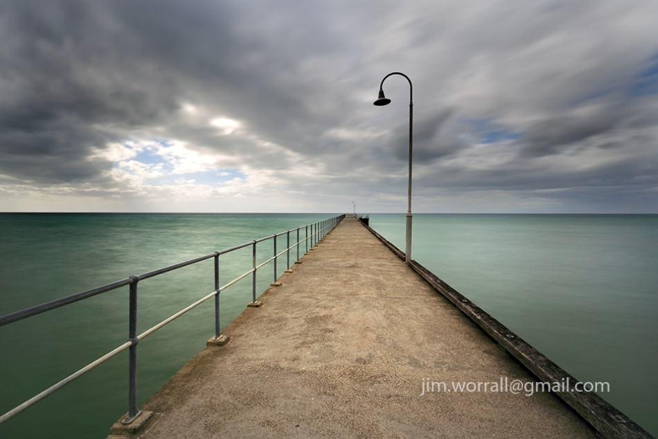 Jim Worrall, Dromana, Mornington Peninsula, pier, jetty, long exposure, port phillip bay