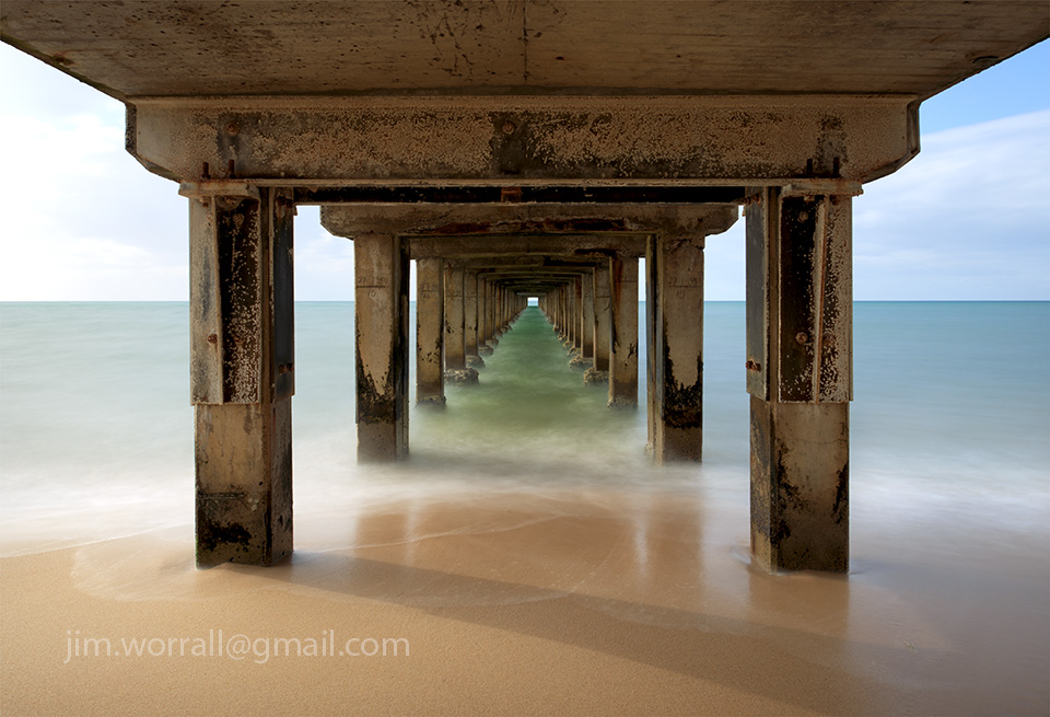 Jim Worrall, Dromana, Mornington Peninsula, Port Phillip Bay, pier, jetty, long exposure
