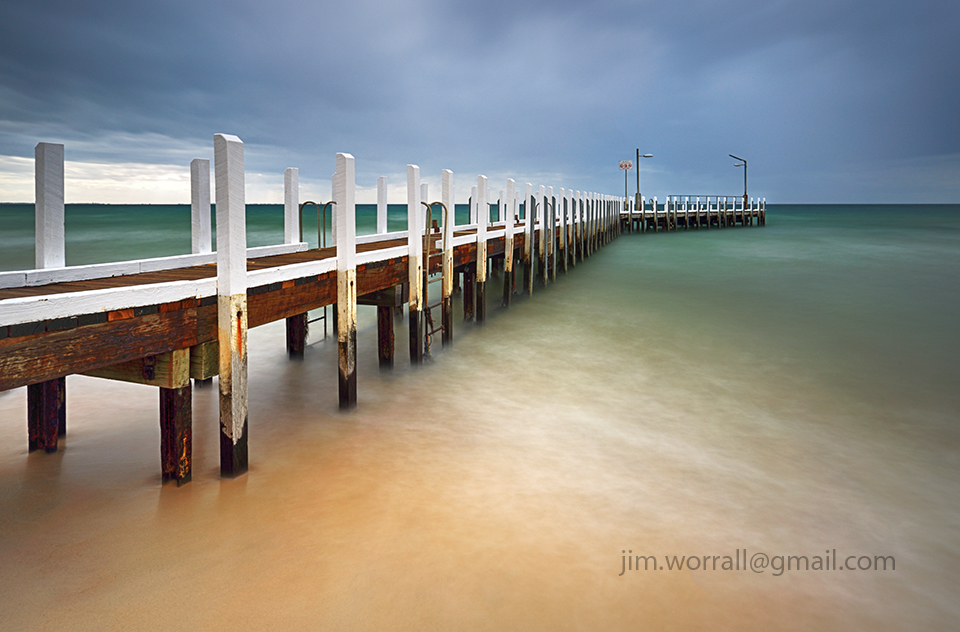 Jim Worrall, Mornington Peninsula, Port Phillip Bay, long exposure