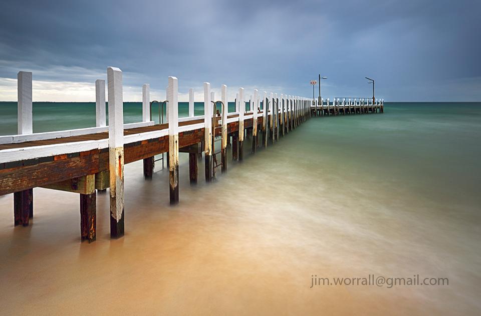 Jim Worrall, Mornington Peninsula, Port Phillip Bay, long exposure