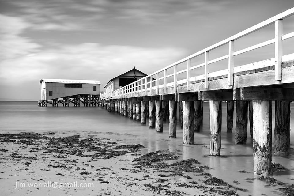 Queenscliff pier jetty Jim Worrall